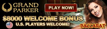 Grand Parker Casino-PLAY NOW & Get up to $8000 FREE Bonus over 3 Deposits