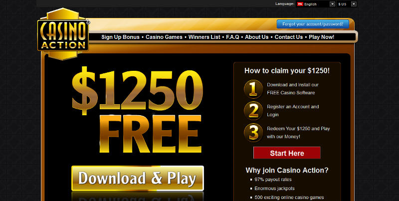 casino action free play