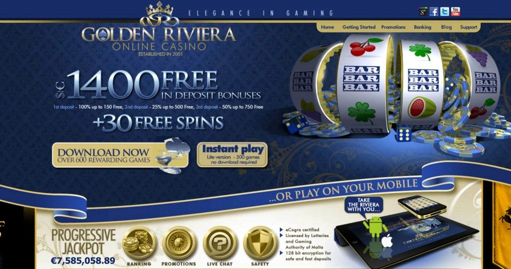 Golden Rivera Casino-PLAY NOW & Get up to AUS$1400 Free